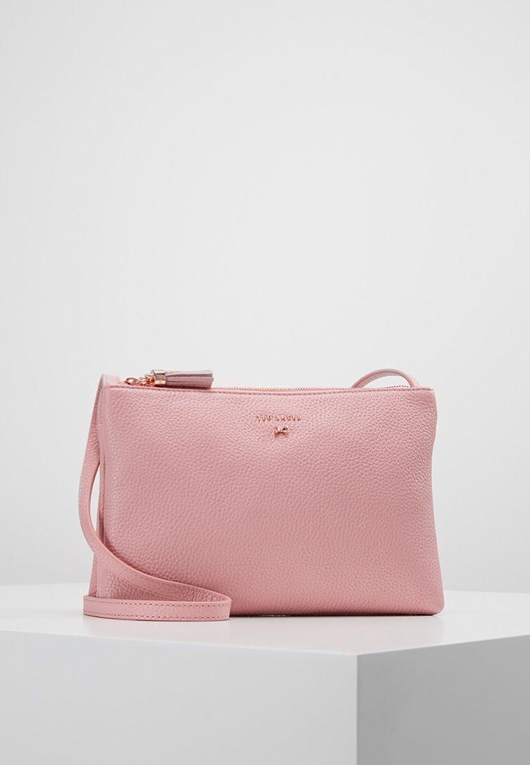 55dfe18dab7 Ted Baker SUZETTE DOUBLE ZIPPED XBODY - Schoudertas - dusky pink -  Zalando.be