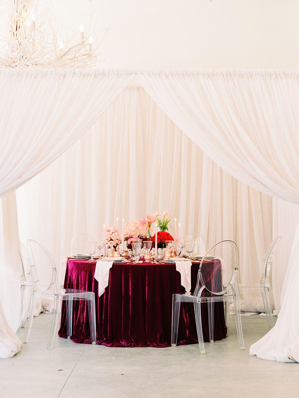 Chic City Valentines Day Wedding Inspiration Romantic Wedding