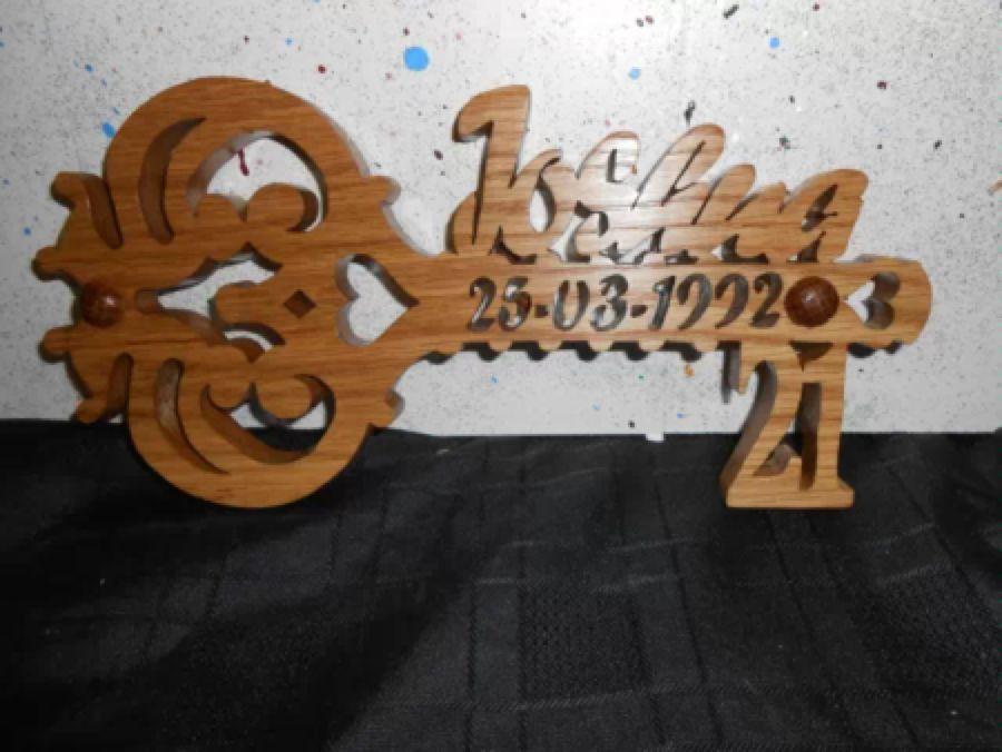 Personalised Wooden Handmade 18th 21st Birthday Keys Celebration Birthday Keys Diy And Crafts 21st Birthday Handmade