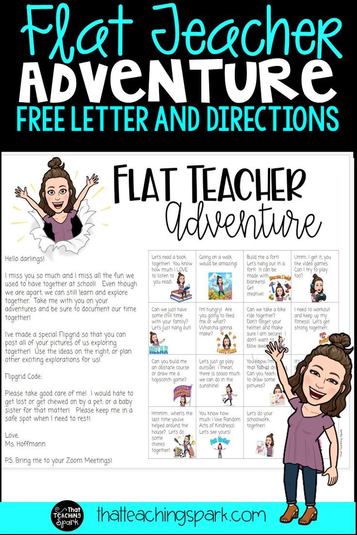 Ready to make yourself flat and go on an adventure with your students? This activity is based on the Adventures of Flat Stanley where a flattened little kid goes on adventures around the world… More