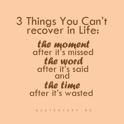 3 Thingu0027s You Canu0027t Recover In Life: THE MOMENT After Itu0027s Missed,