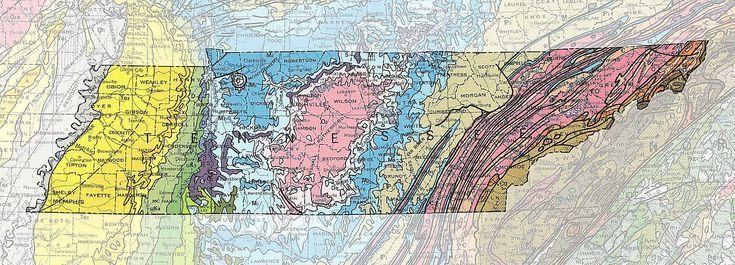 Geological Map Of United States.Geologic Maps Of The 50 United States Geology United States Map