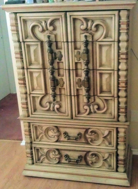 70 S Brown Mediterranean Dresser Goes From Grody To Gorgeous