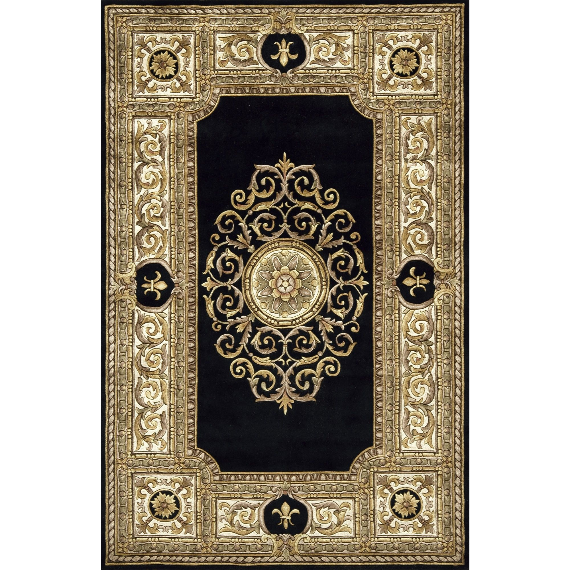 Character: Harrison Devaux Prefers This Kind Of Persian Rug, Dark With  Blacks, Browns