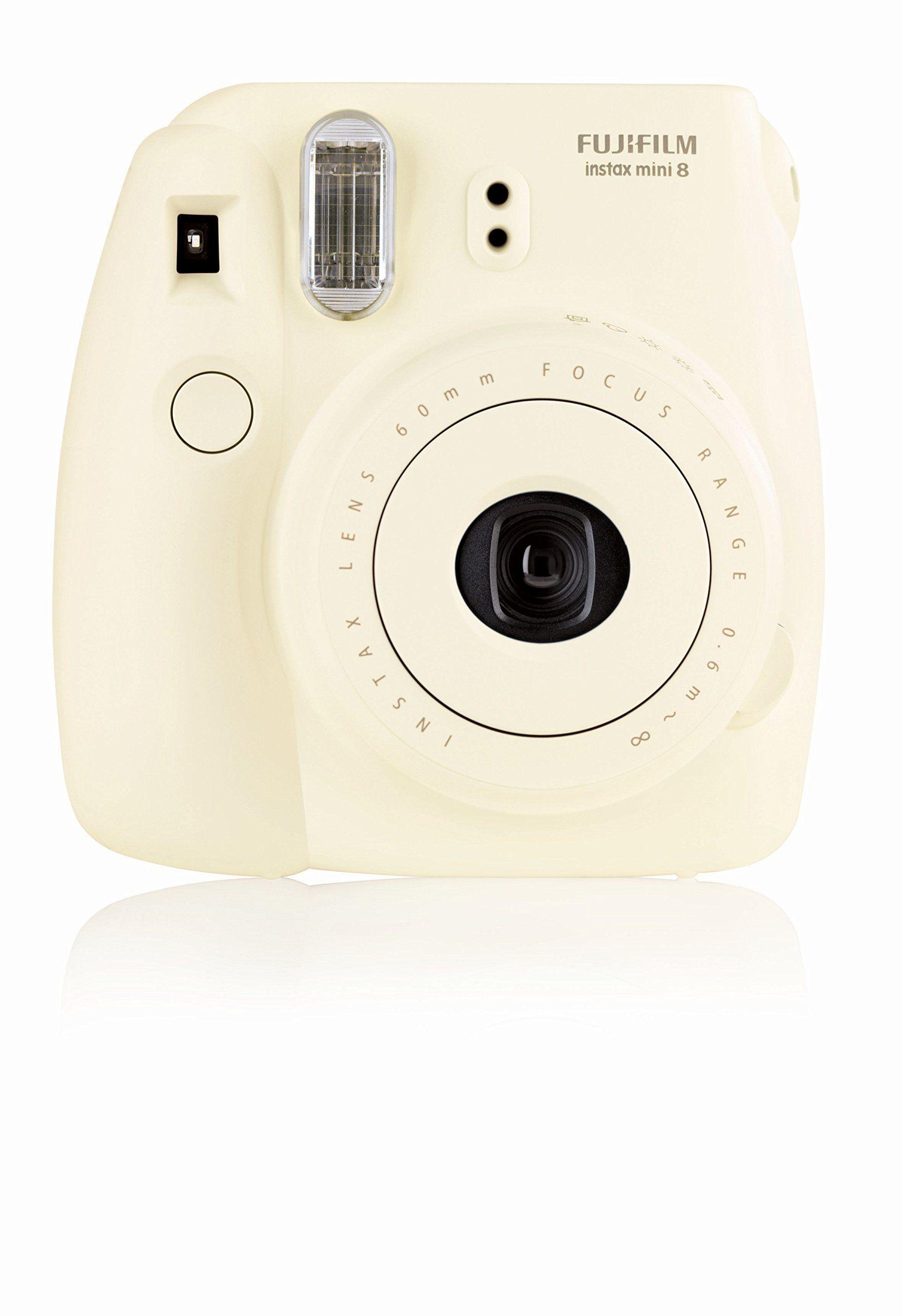 Fujifilm 16273142 Instax Mini 8 Sofortbildkamera 62 X 46mm Weiss