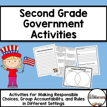 Second Grade Government Activities Teaching Elementary