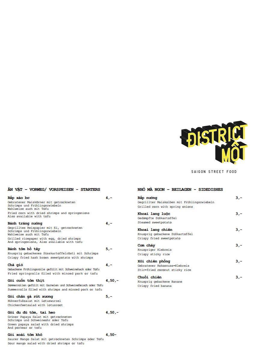 Excellent District Mot Menu Vietnamese Restaurant Design Interior Design Ideas Gentotryabchikinfo