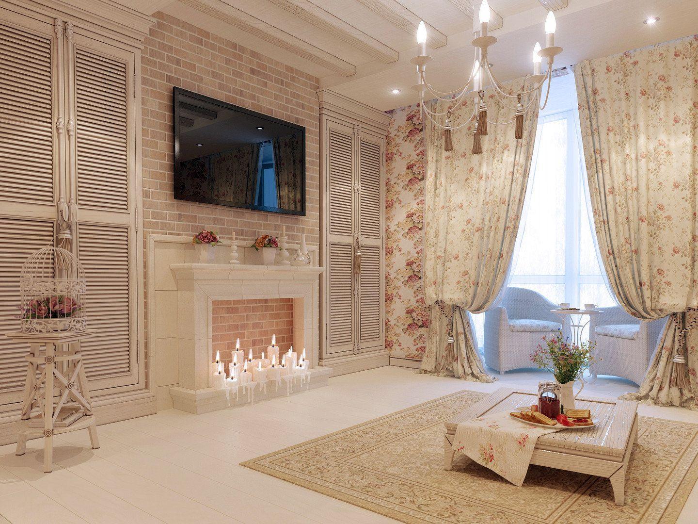 стиль прованс в интерьере квартиры фото: 14 тыс ...