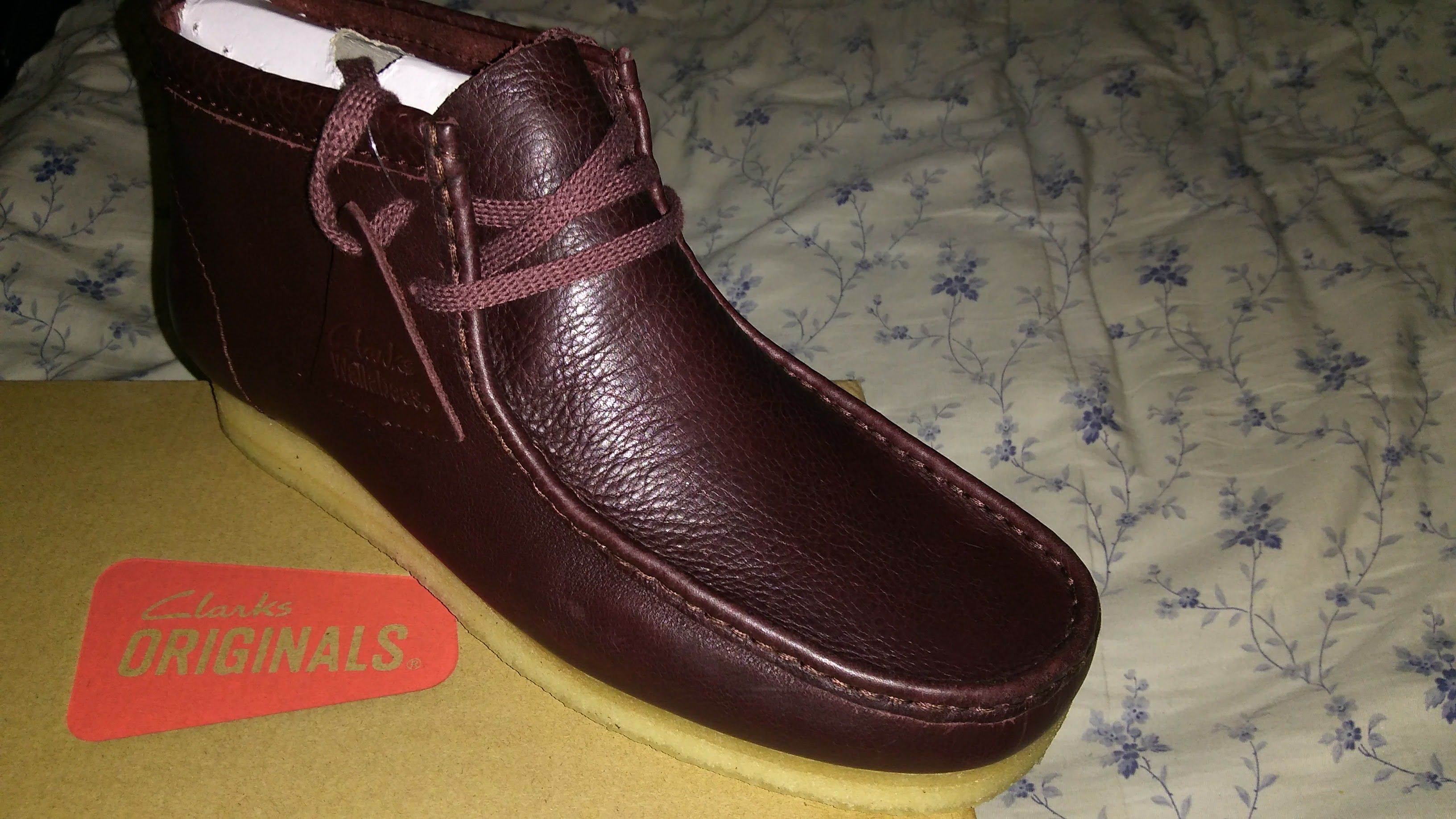 #ClarksUSA #review of the new #Burgundy #TumbledLeather #Moccasin #shoe by #Clarks - https://drewrynewsnetwork.com/forum/shoe-reviews/clarks-aa