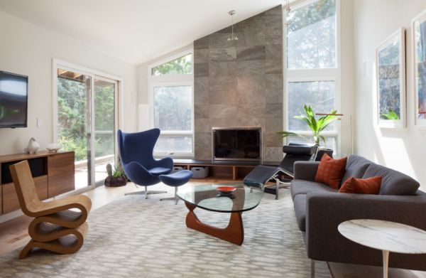 5 Mid Century Modern Accent Chairs
