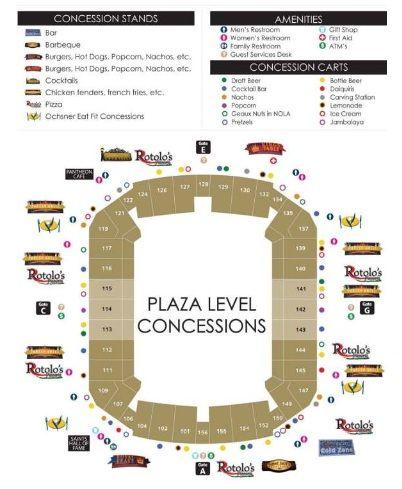 New Orleans Saints Louisiana Superdome Diagram Dad Pinterest