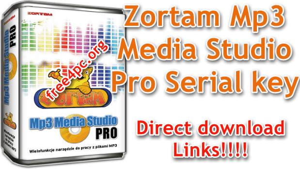 Zortam Mp3 Media Studio Pro 26 05 With Serial Key Latest In 2020