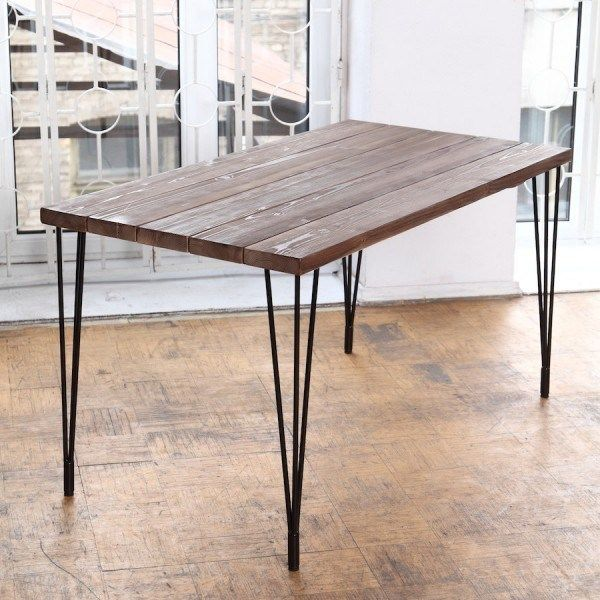 35 Awesome Diy Hairpin Legs Table Ideas Dining Table Diy Dining Table Dining Table With Bench