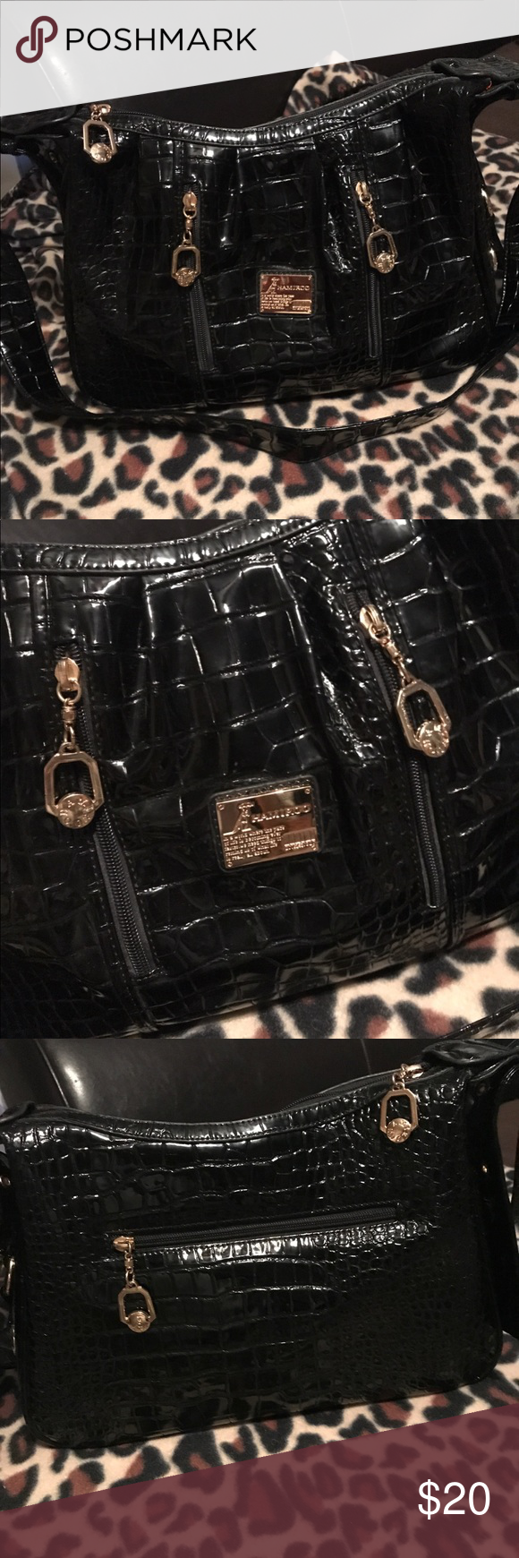 751790bd83 Hamiroo purse Like new. No stains or rips. Has a shoulder strap abs extra  strap to make shorter hamiroo Bags Shoulder Bags