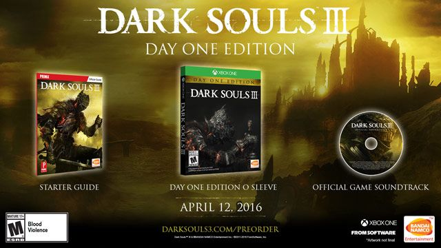 Dark Souls III Day One Edition for Xbox One | GameStop