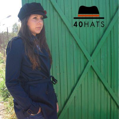 Gorra newsboy 100% lana. Otoño-Invierno. www.fortyhats.com