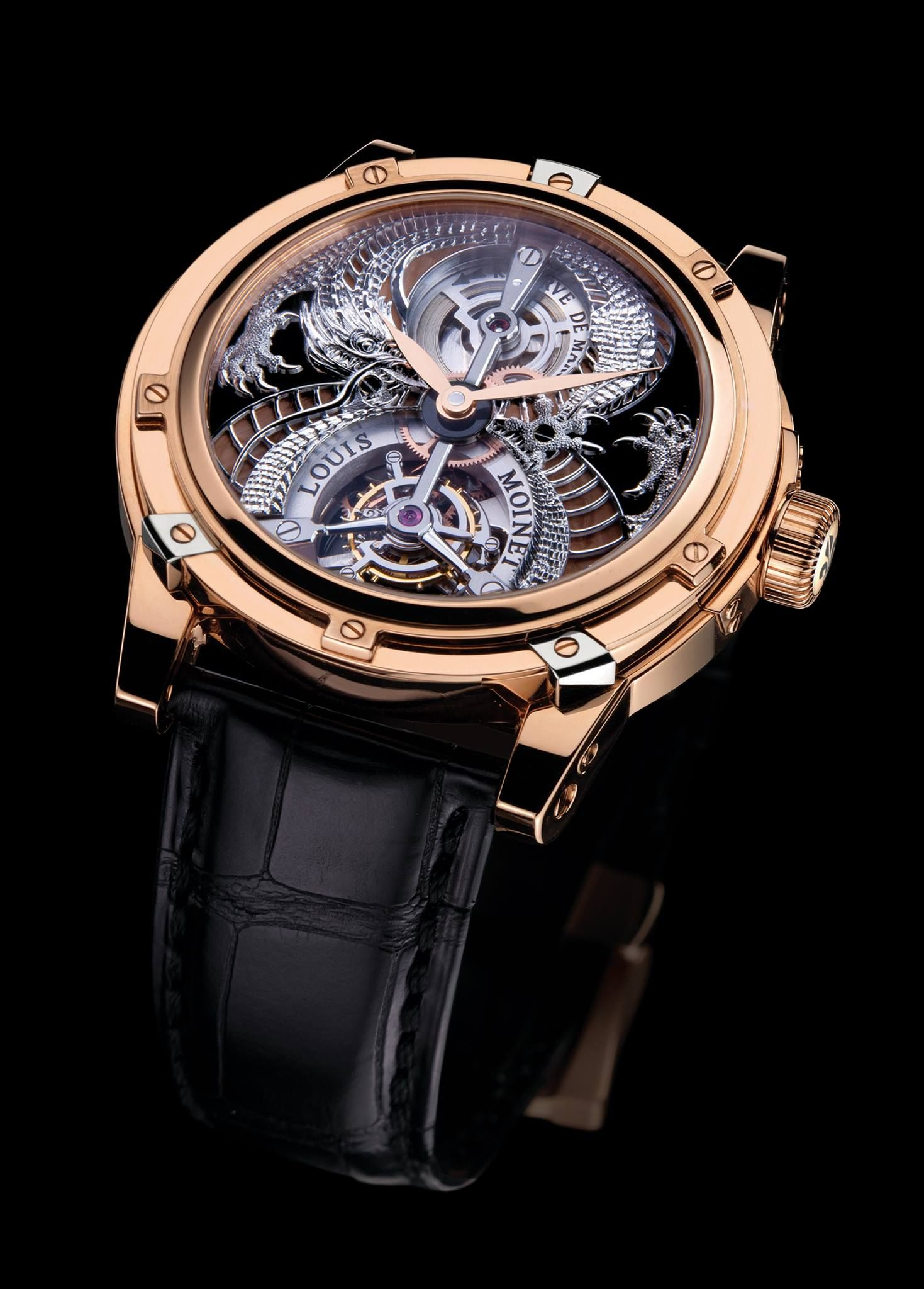 d3ed314e6af Louis Moinet Dragon Tourbillon (FOLLOW MY BOARDS FOR HIGH QUALITY PHOTOS  AND CONTENT http