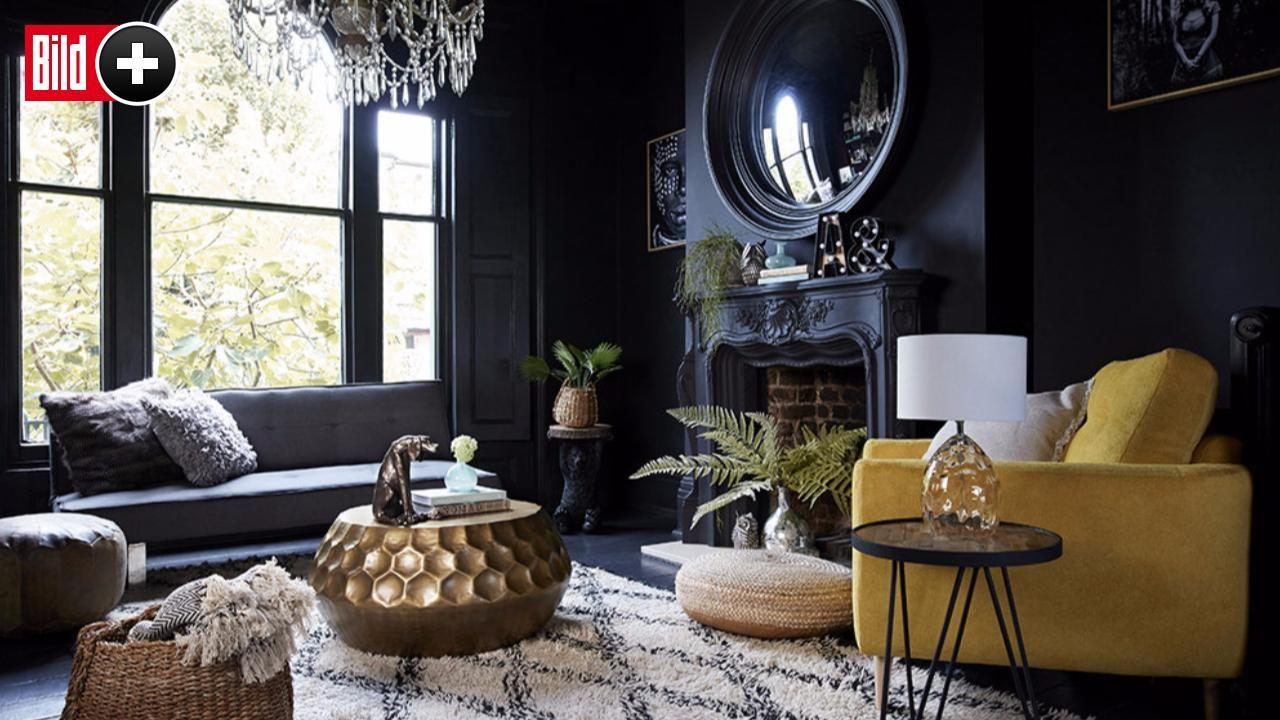 Interior Designerin Abigail Ahern - Dunkle Wände machen das Zuhause ...