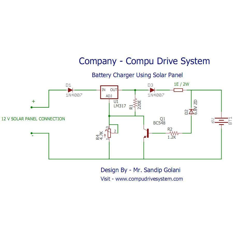 Hello Dear Friends Hope You All Had A Nice Weekend And Got Relaxed Solar Charger Circuit Diagram Charged