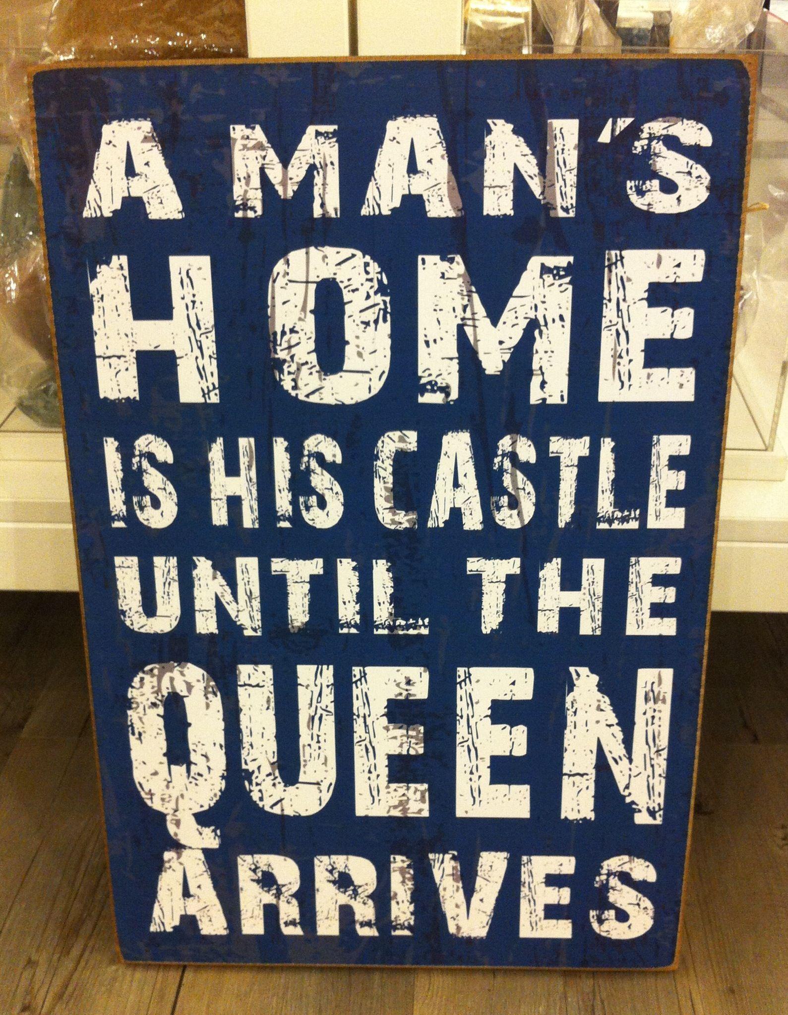 A man's home - leuke decoratie voor in de hal