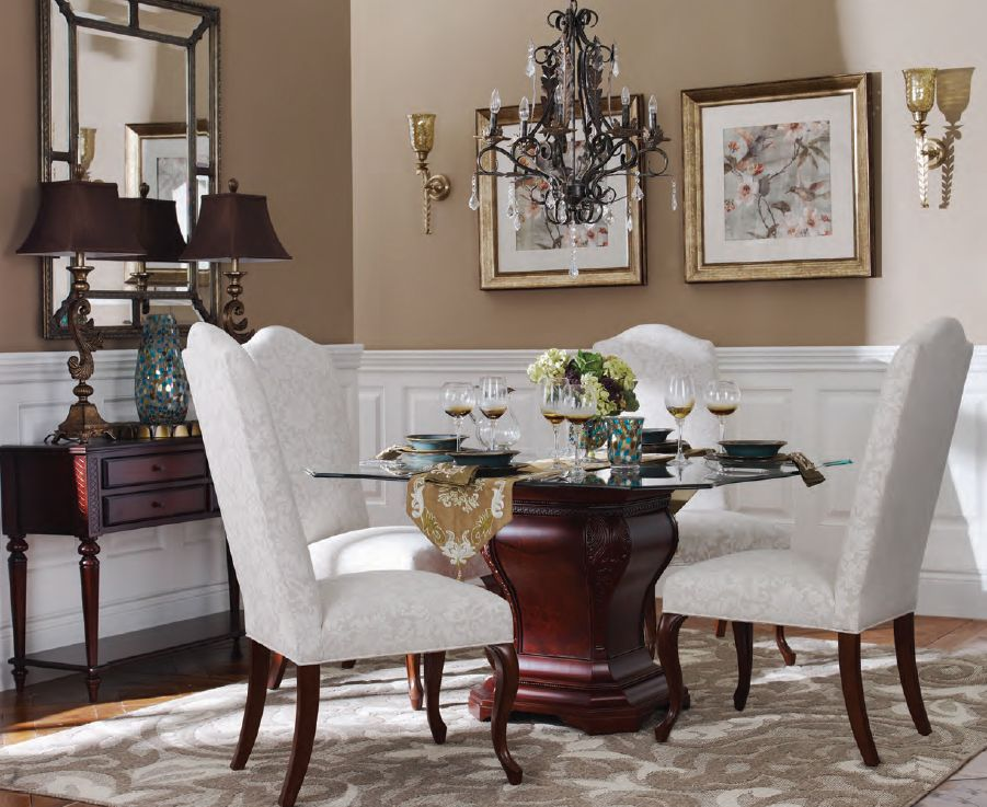 Hamilton table langford dining chairs bombay canada dining rooms by bombay canada - Dining room table canada ...