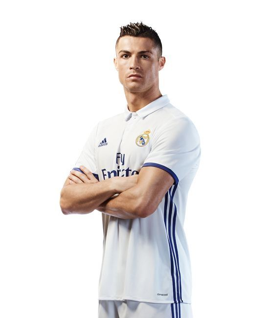 Real Madrid 16/17 home soccer jersey.#7 Ronaldo