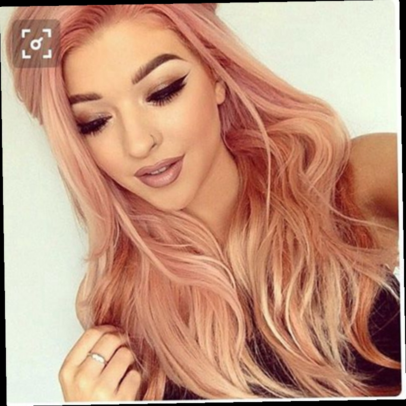 46.50$  Watch here - http://aliiep.worldwells.pw/go.php?t=32786513812 - Gorgeous Pink Lace Front Synthetic Wigs For Pretty Girl New Arrival Fashion Loose Body Wavy Synthetic Wigs Heat Resistant Wigs 46.50$