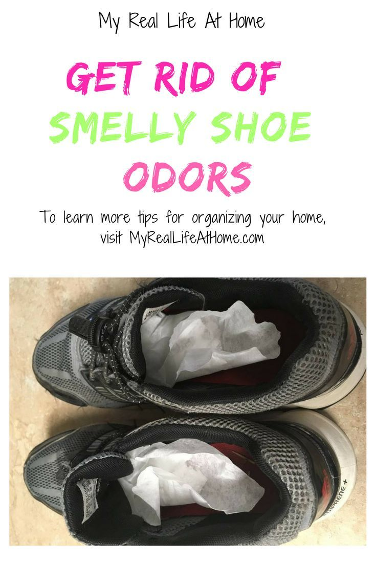 How To Get Rid Of Stinky Shoe Smell