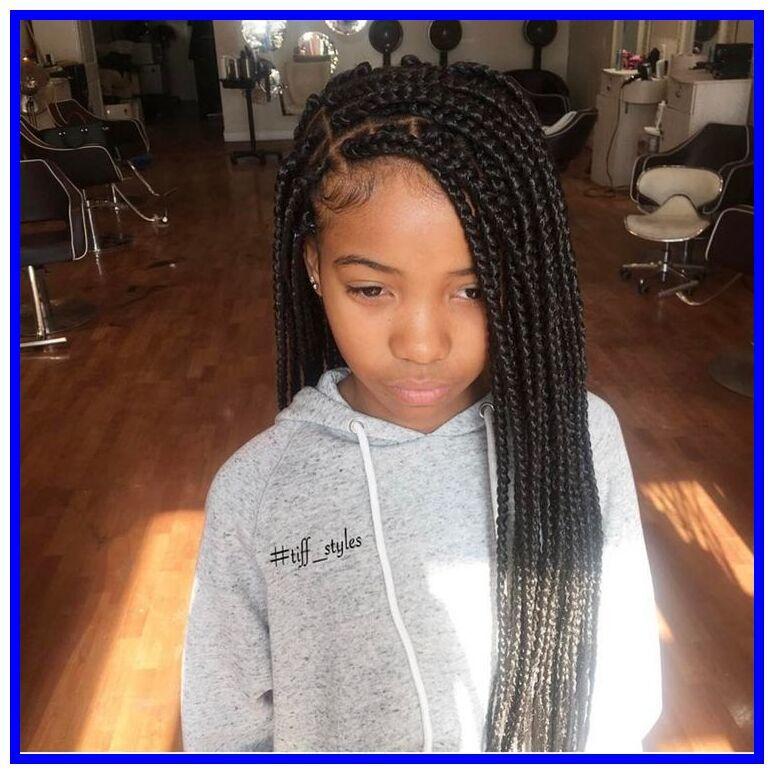 80 Reference Of Kids Braid Styles Weave Kids Braided Hairstyles Hair Styles Kids Box Braids