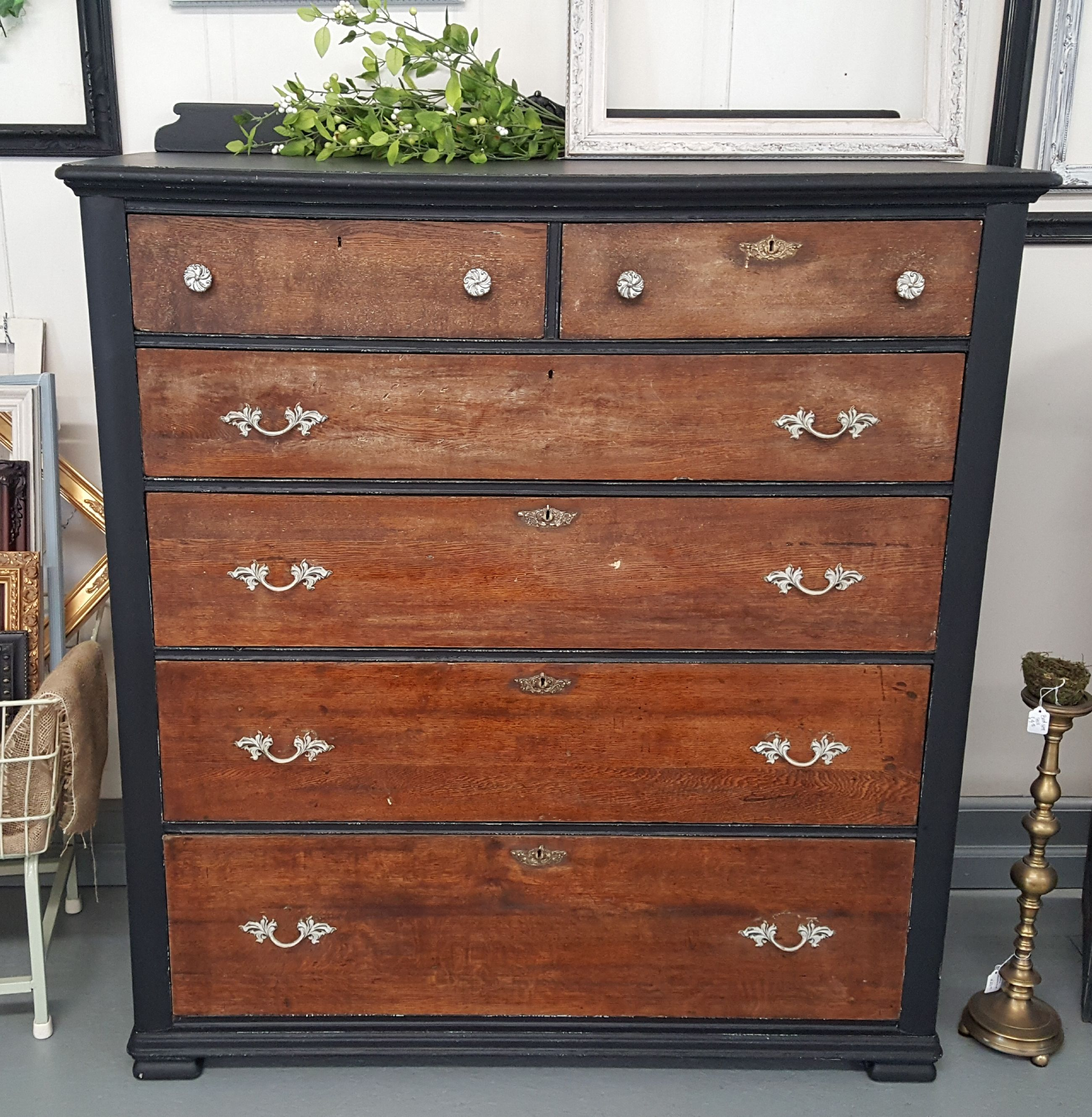 Mive Antique Dresser With 6 Drawers Measures Over 4ft Tall And Wide Heavy Piece To Own Get It Now In Our Online We Deliver Even The