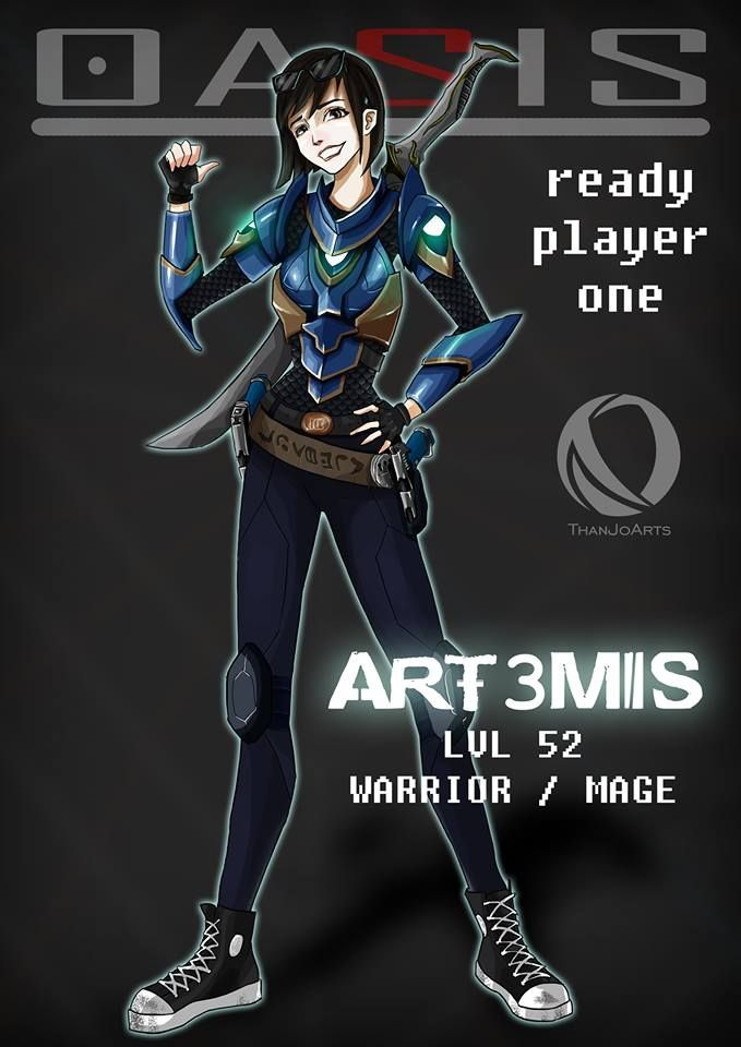 Art3mis From Ready Player One By Thanjoarts Ready Player One Ready Player One Art3mis Player One