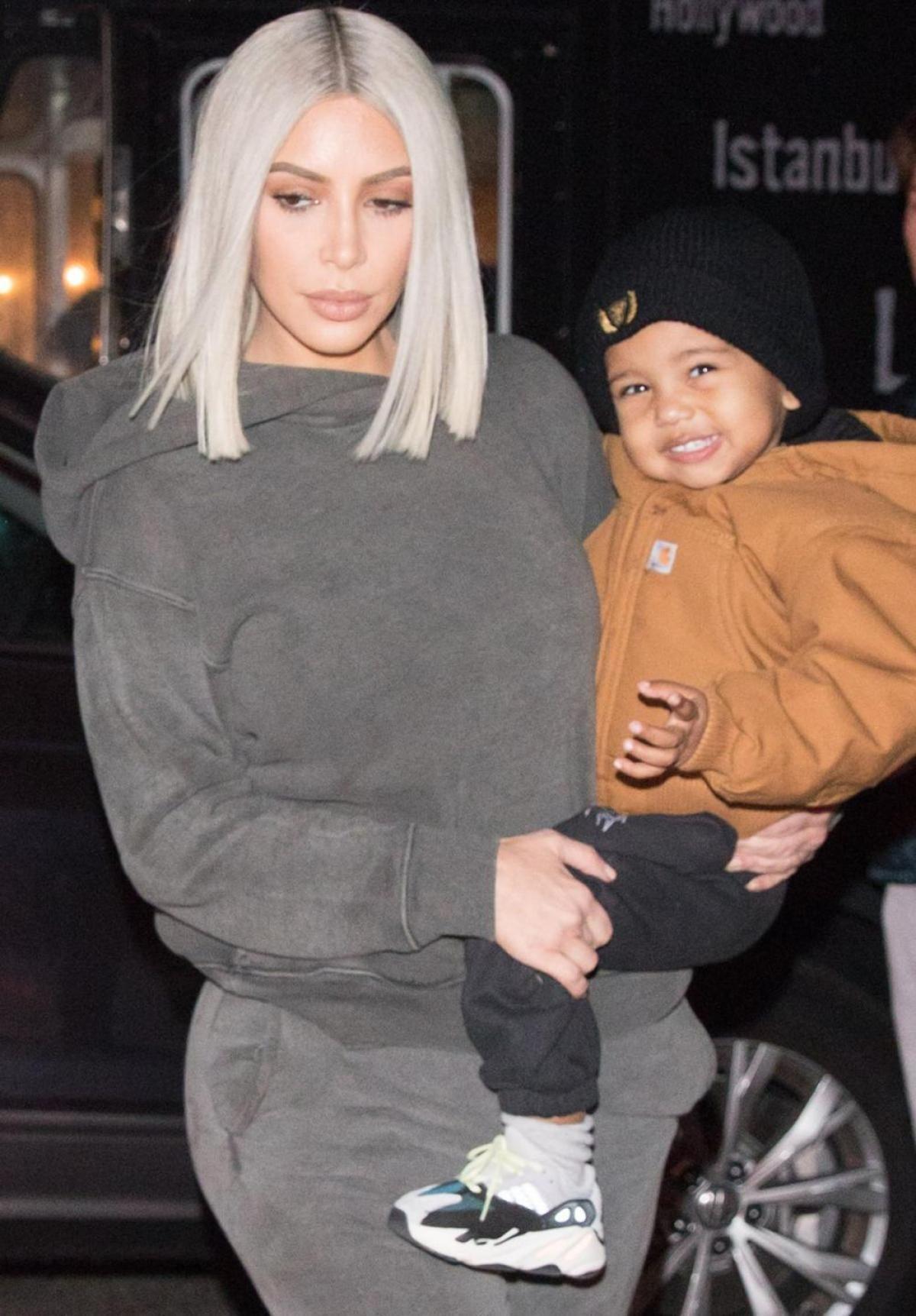 Kim Kardashian And Son Saint Hospitalized With Pneumonia Days