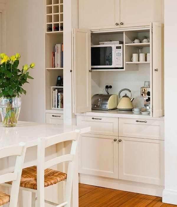 Kitchen Cabinet Ideas For Microwave: Pin On Kitchens