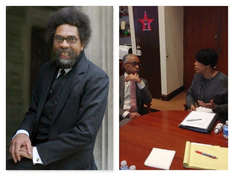 Where Reality & Fantasy Get Confused : Cornel West And Al Sharpton Are Two of A Kind