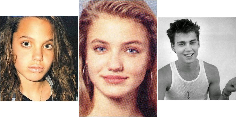 Descubre cómo eran los famosos de jóvenes