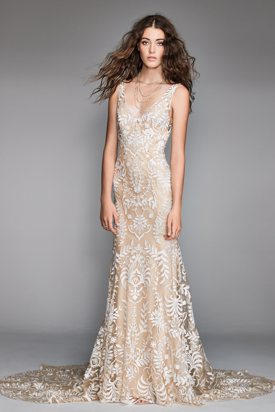 Willowby 50104 Corella V-Back Wedding Gown