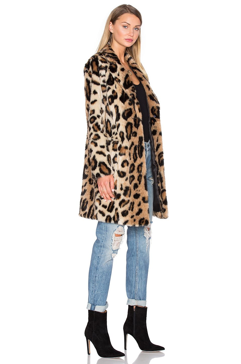 10867d527e10 House of Harlow 1960 x REVOLVE Genn Faux Fur Coat in Leopard | REVOLVE