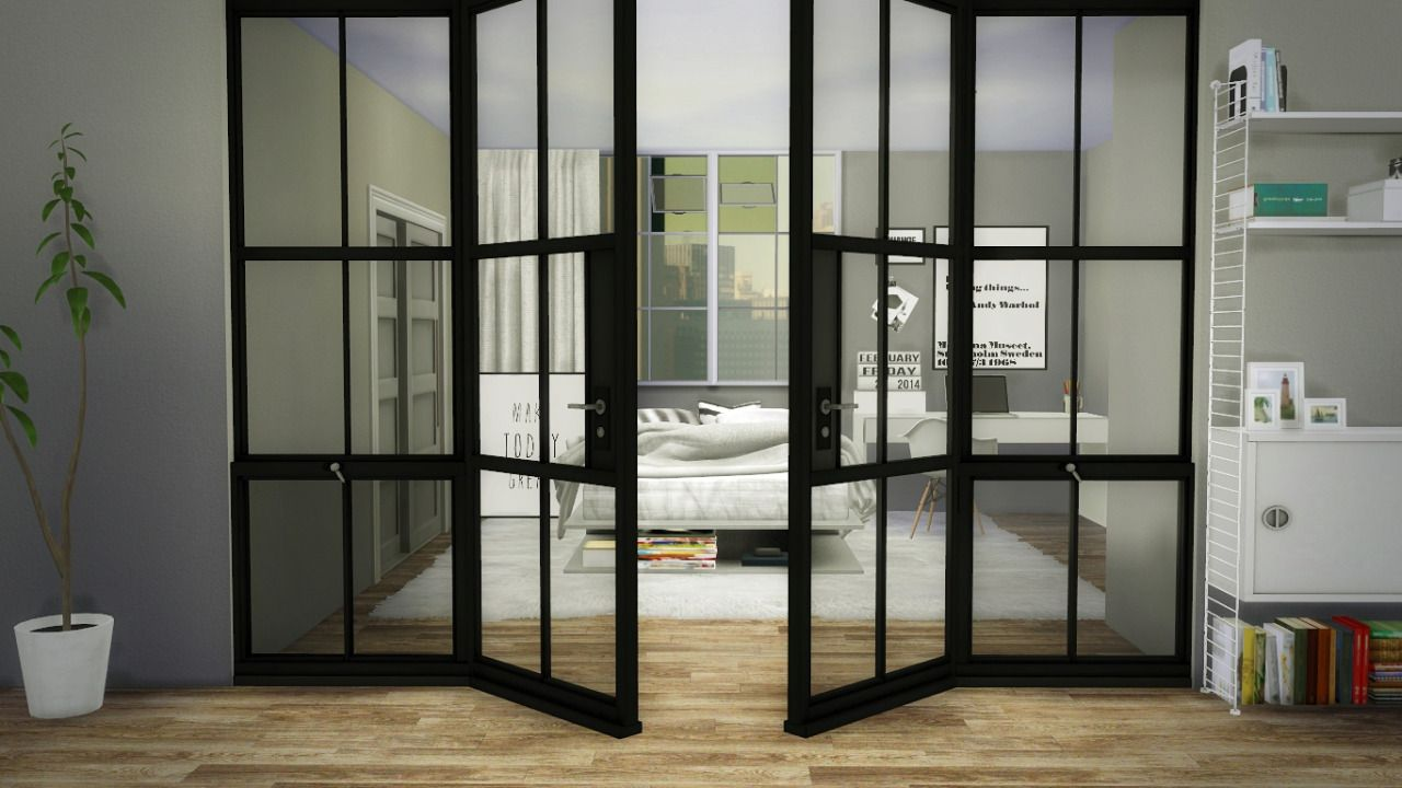 Sims 4 cc 39 s the best windows and door decor by maximss for Windows and doors