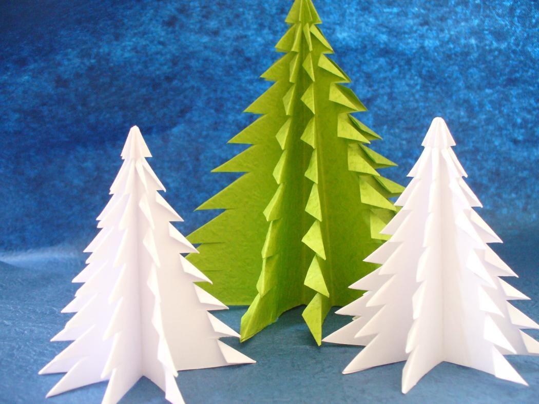 Diy Christmas Crafts Origami Christmas Trees Christmas Origami Origami Christmas Tree Christmas Tree Beads