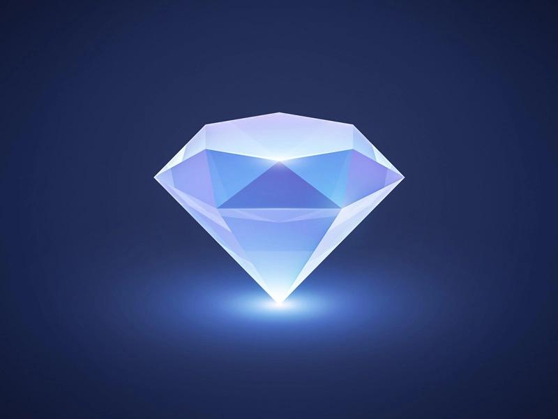 Gem Diamond Logo Diamond Icon Gems