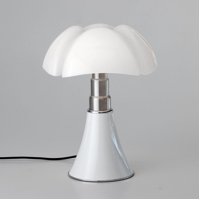 Martinelli Luce Lampe Mini Pipistrello Blanche On Off Lampe Pipistrello Lamp Lampe De Bureau Led