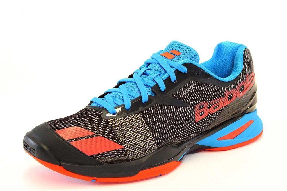 Babolat Men's Tennis Shoes JET All Court Michelin Gray