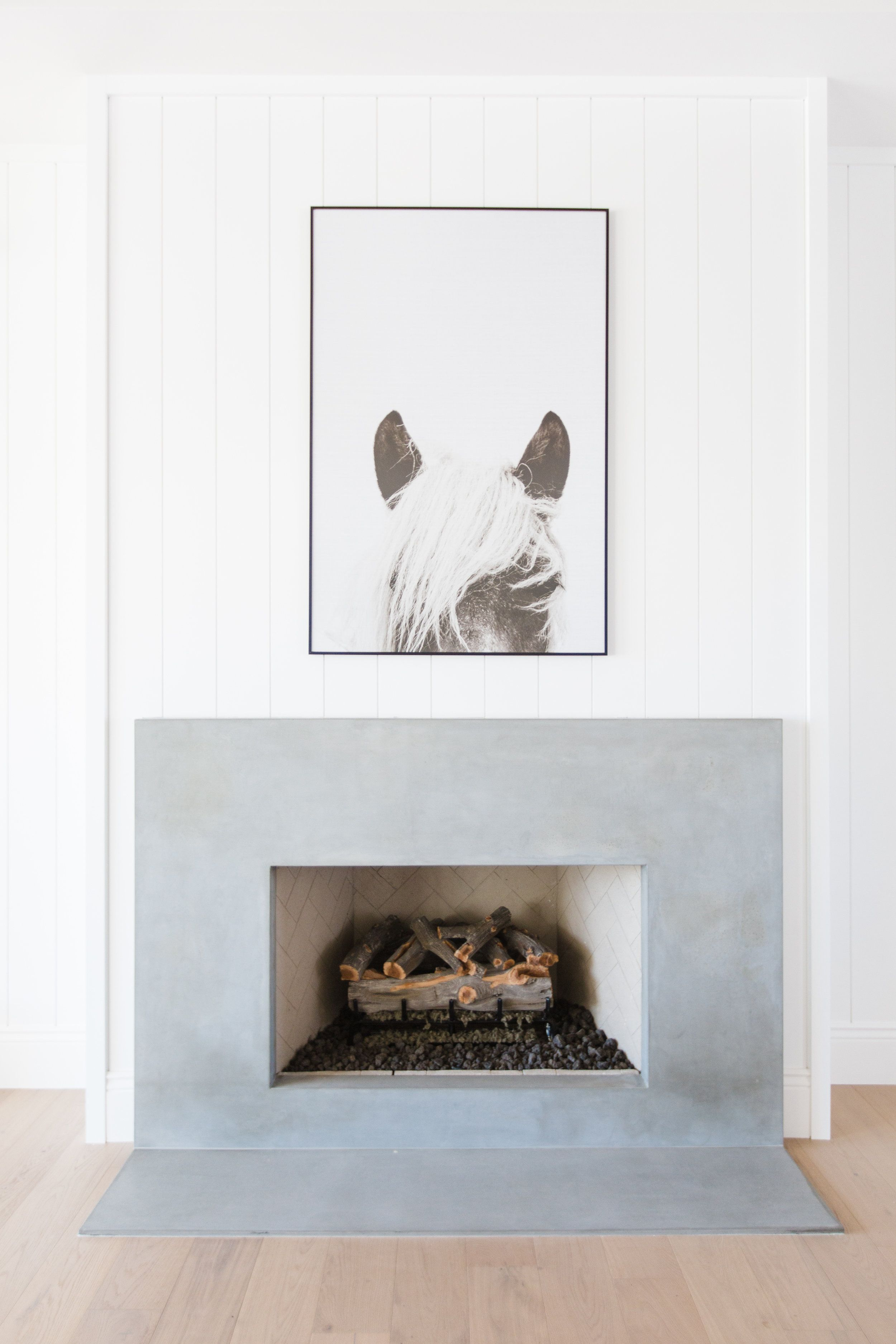 This Home Is The Epitome Of California Cool Home Fireplace