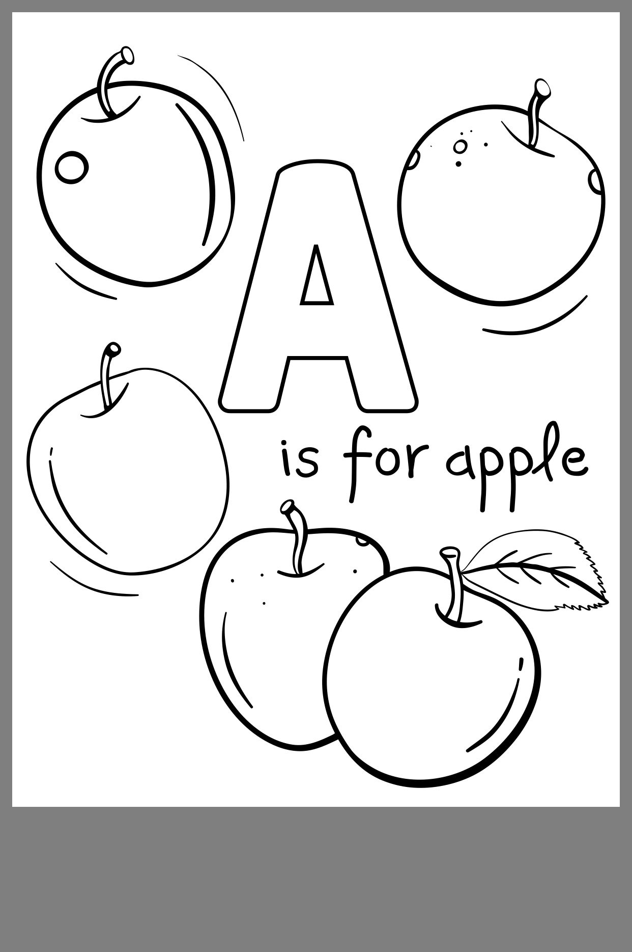 pin by meagan mccrillis on daycare fall pinterest apple 5 New Apple iPhone 6 apple coloring pages filing pdf
