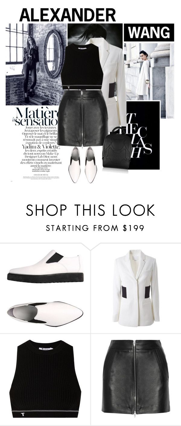 """""""Alexander Wang"""" by emeliet ❤ liked on Polyvore featuring Victoria Beckham, Alexander Wang and T By Alexander Wang"""