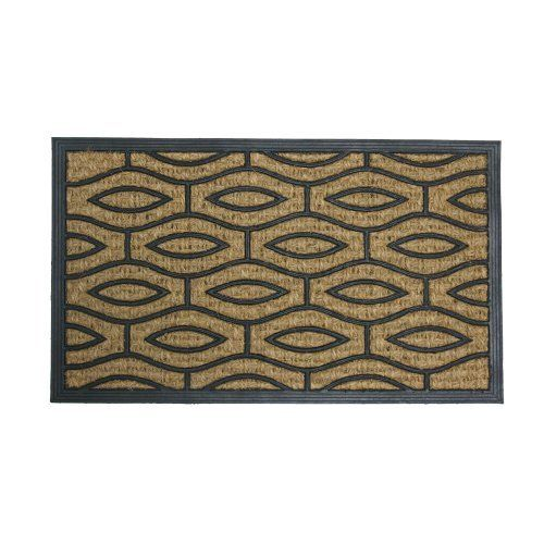 Green Terrace Decorative Rubber Entry Mat 18 X 30 Outdoor Coco Doormat By Rubber Cal 34 90 These Eco Friendl Door Mat Rubber Door Mat Outdoor Door Mat