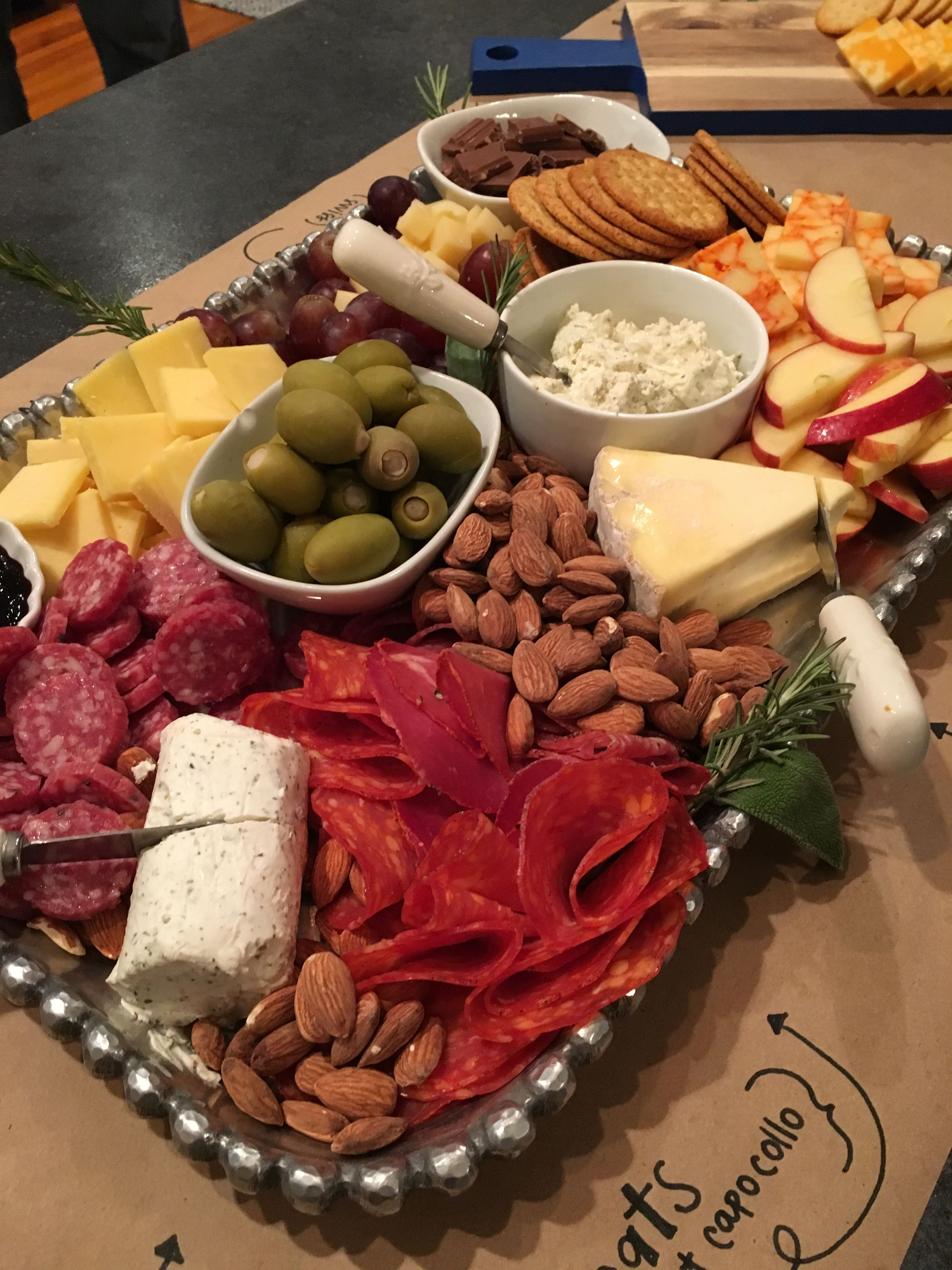 Charcuterie Board Mixed Cheeses From Aldi S Budget Friendly Appetizer Recipes Yummy Appetizers Appetizer Snacks