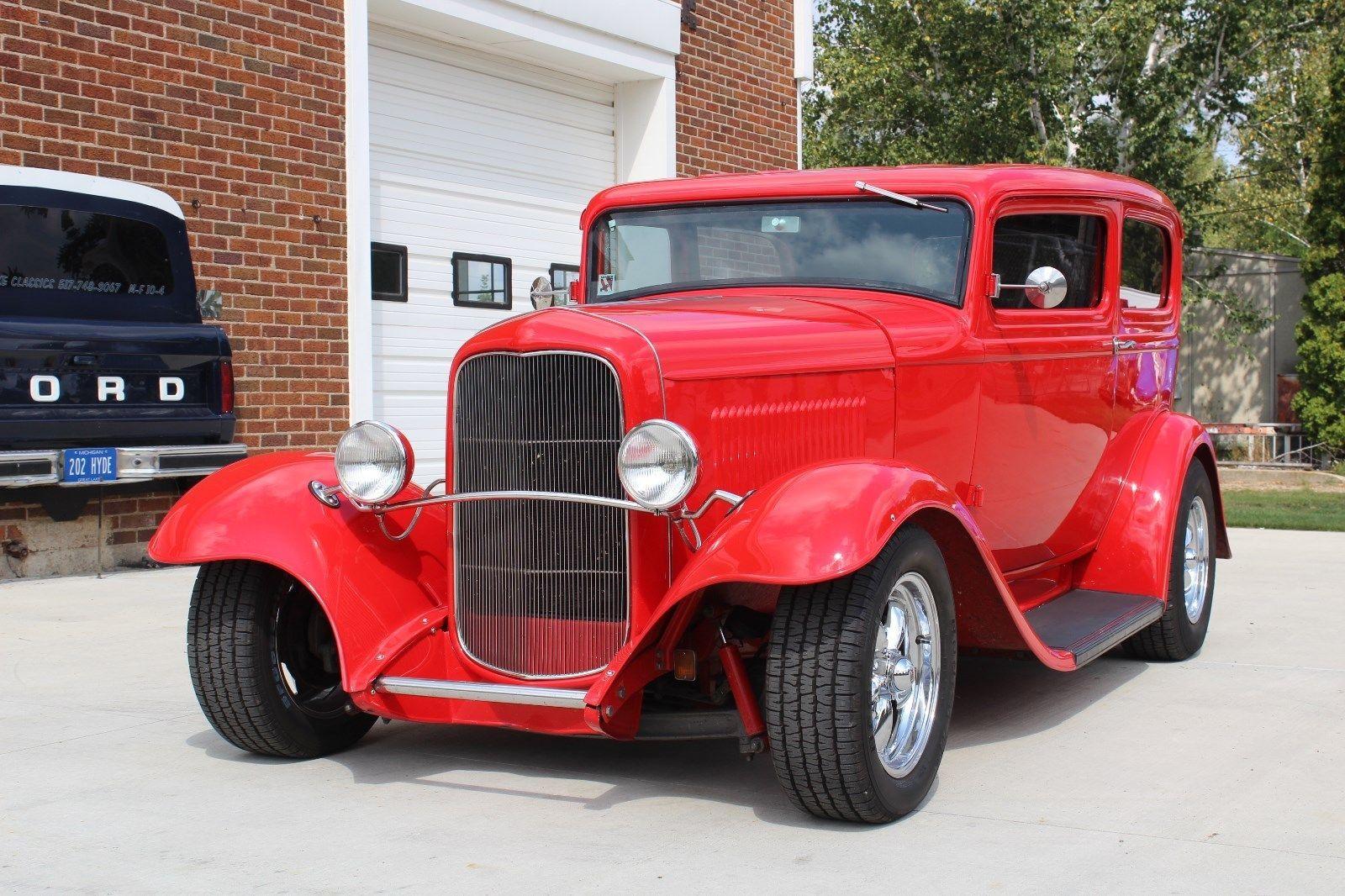 Awesome Amazing 1932 Ford 2 Door Sedan hot rat street rod custom ...