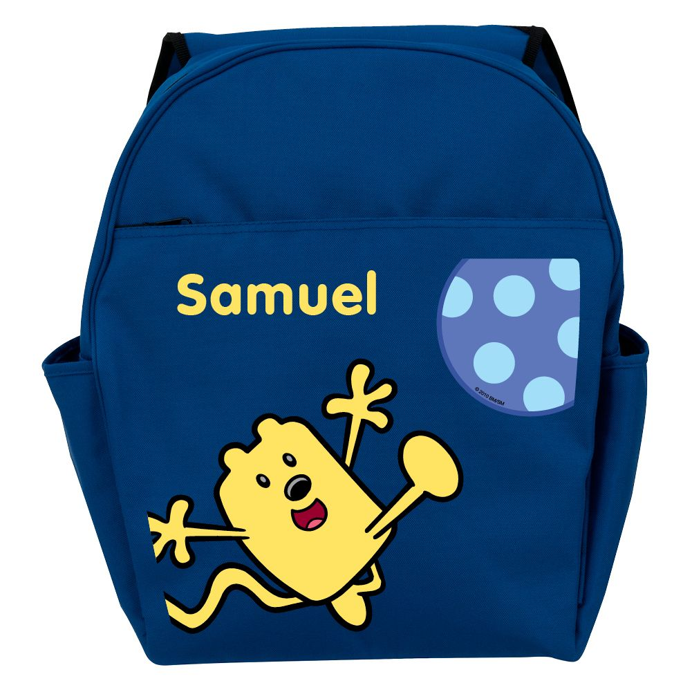 Kickety-Kick Ball Blue Toddler Personalized Backpack - All Backpacks -  School Supplies  5e9666d9a98e9
