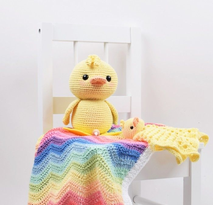 Alfred the Duck with Music Box Crochet patterns free